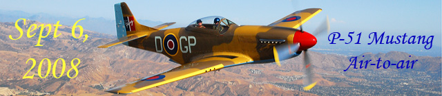 Click here for the P-51 Mustang Air-to-air           gallery