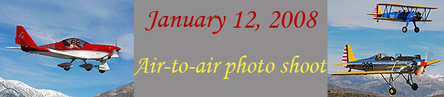 Click here for the January 12, 2008 air to air           section