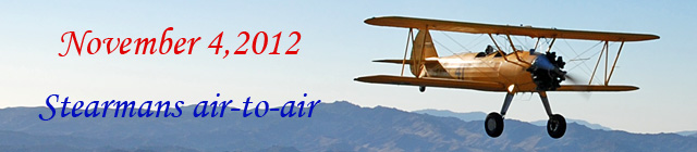 Click here for the Stearman air-to-air gallery