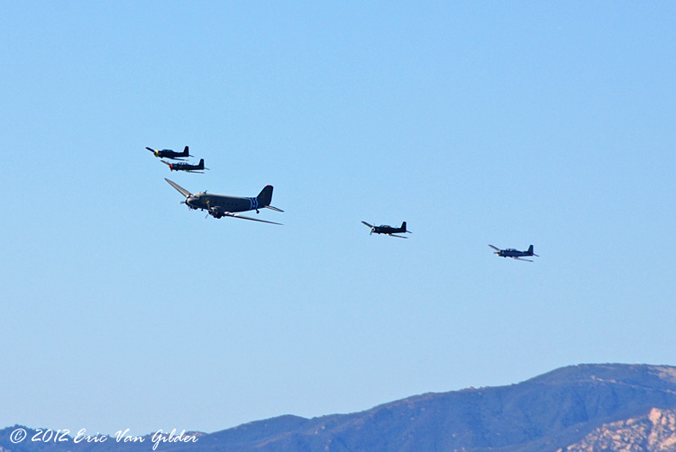 C-47 with four Nanchang CJ-6As