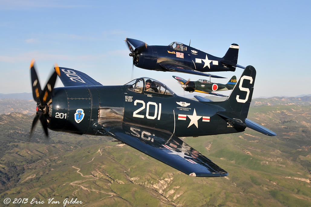 CAF SoCal Wing Pacific fighters of WWII