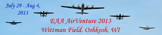 Click here for the Airventure 2013 (Oshkosh) section