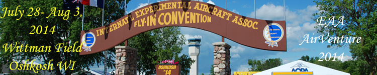 Click here for the Oshkosh AirVenture 2014 section