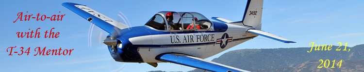 Click here for the T-34 Mentor air-to-air gallery