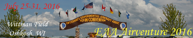 Click here for the EAA Airventure 2016 section