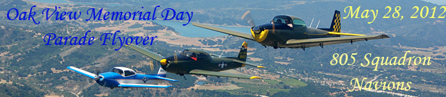 Click here for the Oak View Memorial Day           Flyovers