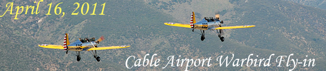 Click here for the Cable Warbird Fly-in section