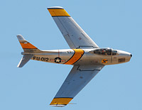 Click here for the F-86 Sabre gallery