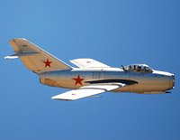 Click here for the MiG-15 gallery