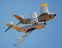 Click here for the MiG-15/F-86 Sabre Formation gallery