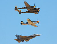 Click here for the USAF Heritage Flight gallery