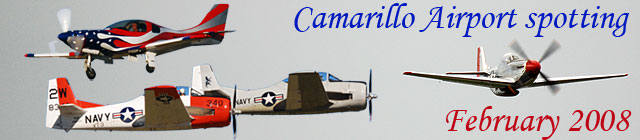 Click here for the Camarillo Airport Spotting           gallery
