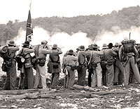 Click here for the Civil War Re-enactment                   section