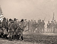 Click here for the Civil War re-enactment 2009                   section