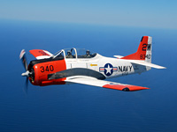 "Click here for the T-28 ""Ginny Sue II""                   gallery"