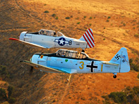 Click here for the T-6 Texans over Moorpark                   puzzle