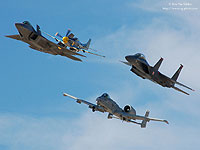 USAF Heritage Flight Wallpaper