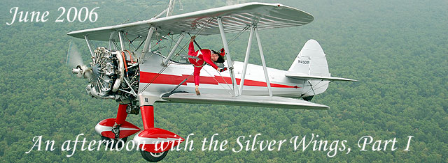 Click here for the wing walking photo essay